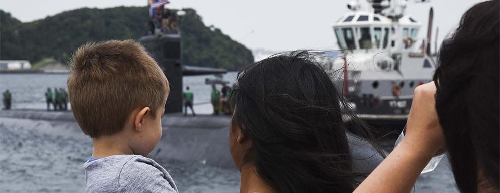 USS Olympia visits Yokosuka