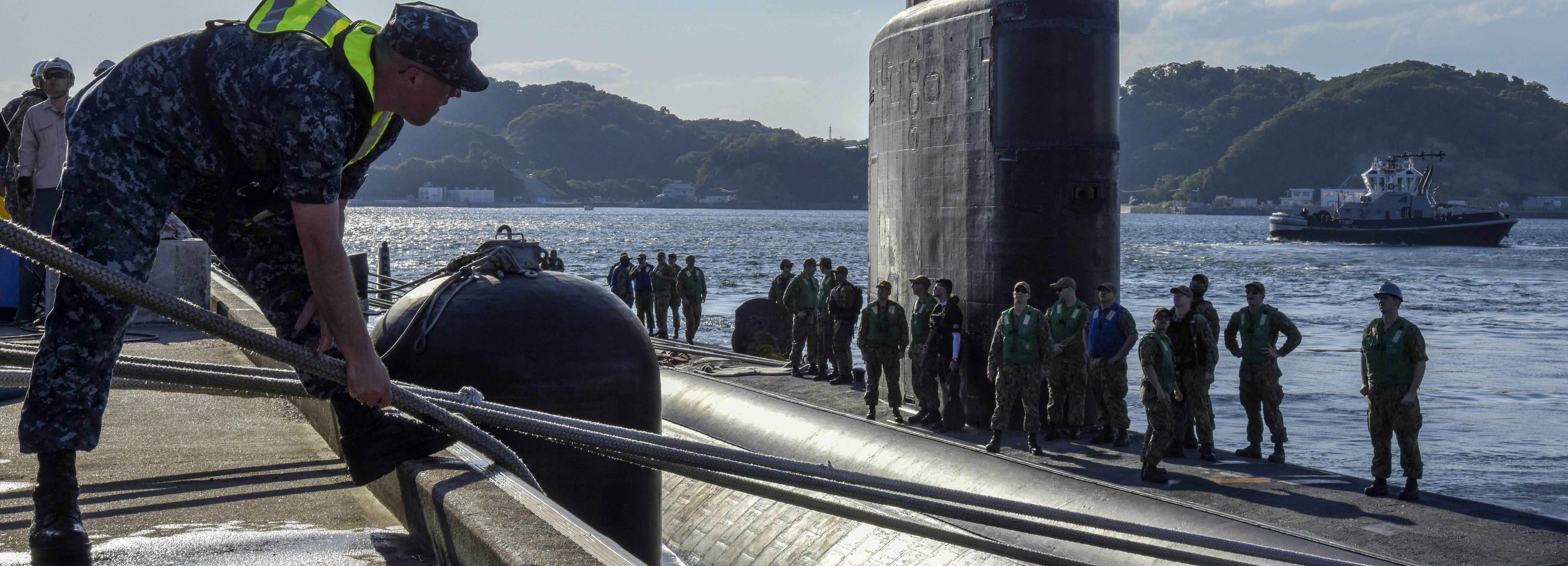 USS Columbia (SSN 771) Port Visit