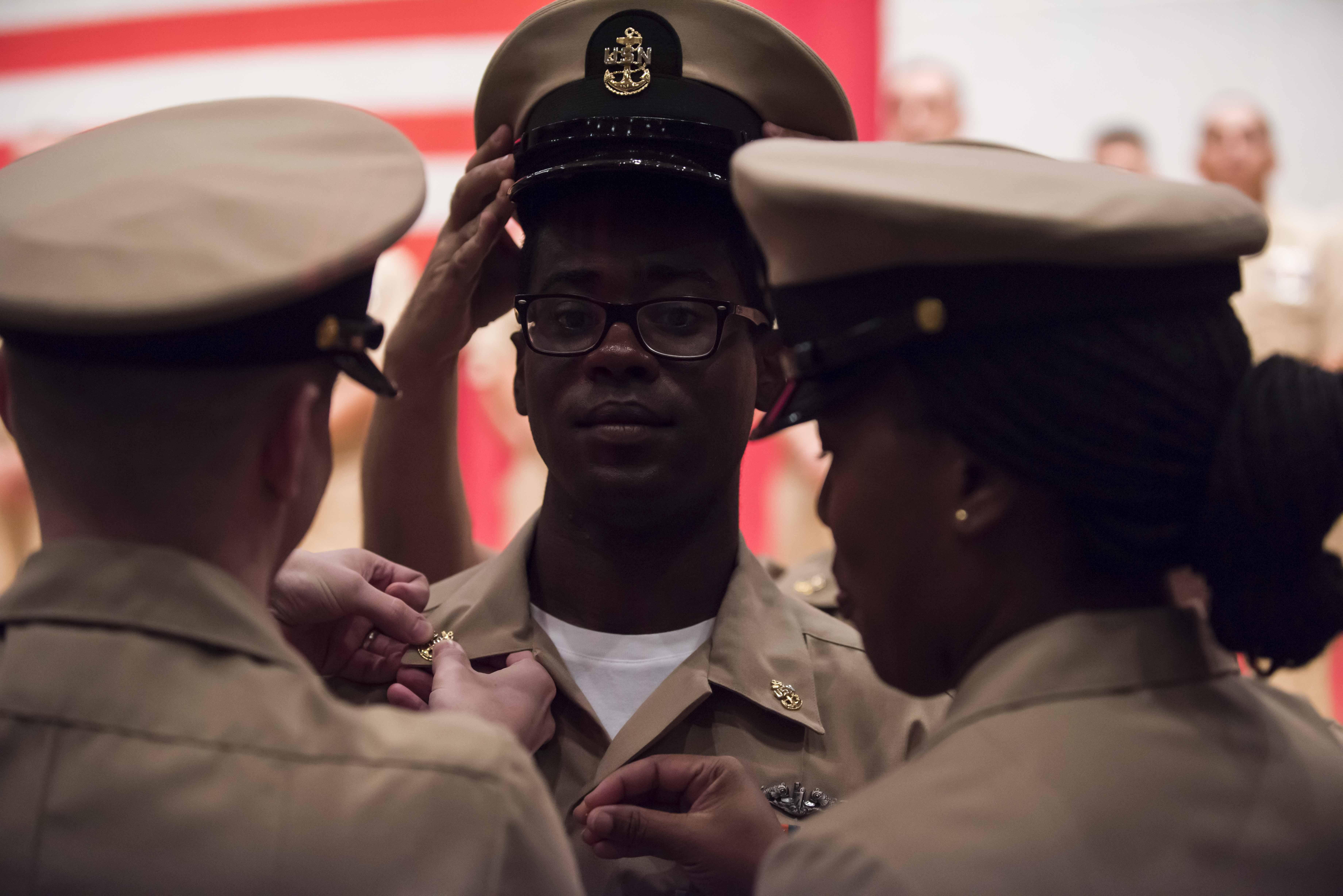 2019 CSG7 Chief Pinning Ceremony