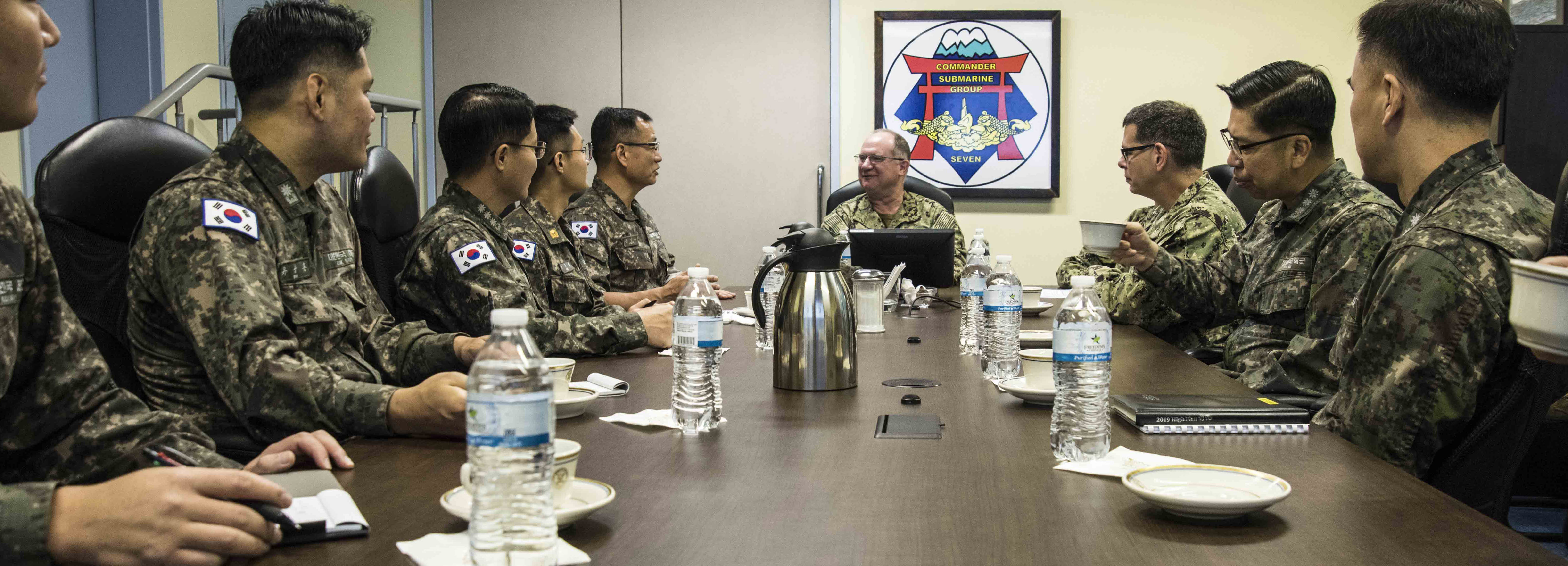 Republic of Korean Navy visits CSG7