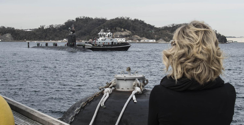 USS Mississippi visits CFAY
