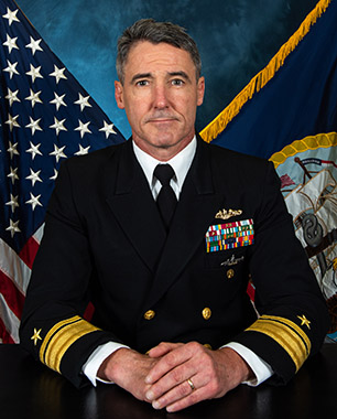 Rear Admiral Blake L. Converse, Commander, Submarine Force, U.S. Pacific Fleet