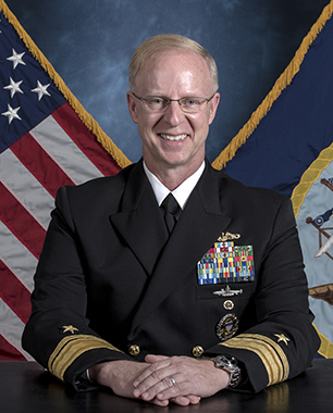 Rear Admiral Daryl L. Caudle, Commander, Submarine Force, U.S. Pacific Fleet