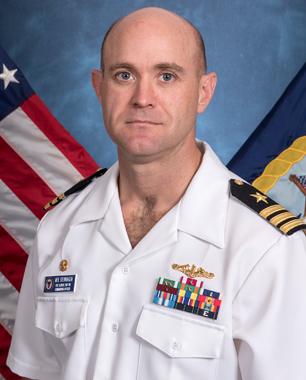 Commander Neil Steinhagen   USS Illinois SSN 786   Submarine