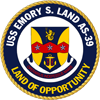 USS Emory S. Land insignia