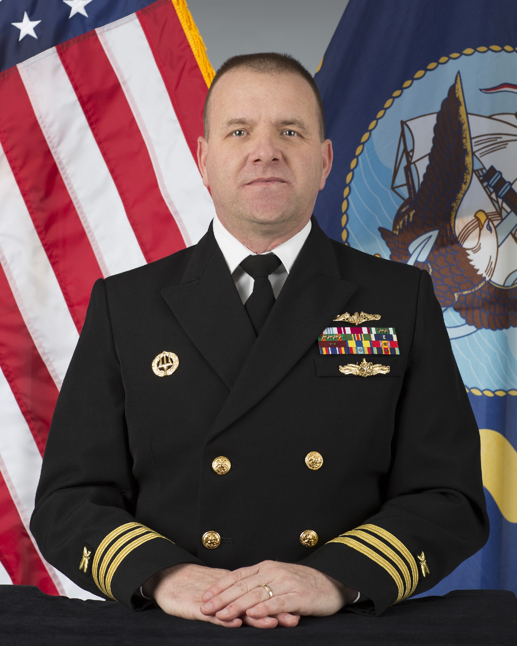 a native of savannah georgia commander demeyer enlisted in the navy in 1986 completing three enlisted tours prior to earning a bachelor of science degree