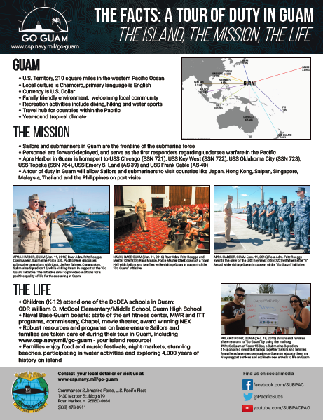 Go Guam fact sheet